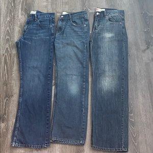 Lot of 3 Levi's Jeans Sz. 18 29x29
